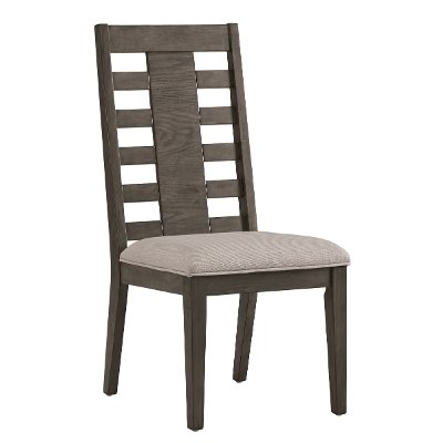 Contemporary Ash Gray Upholstered Dining Room Chair - Havana