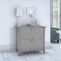 Cape Cod Gray Lateral File Cabinet - Salinas