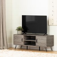 12118 47 inch Oak Caramel TV Stand with Doors - Evane