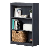 12335 Blueberry 3-Shelf Bookcase - Axess
