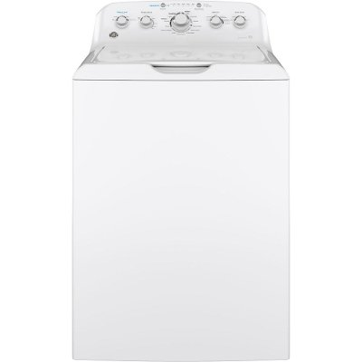 GTW465ASNWW GE 14 Cycle Agitator Top Load Washer - 4.5 cu. ft. White