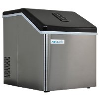 CLEARICE40/ICE/MAKER NewAir Portable Countertop Ice Maker - Stainless Steel