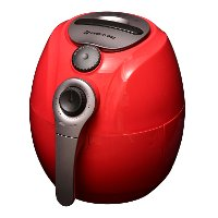 Avalon Bay Red 3.7 Quart Manual Air Fryer