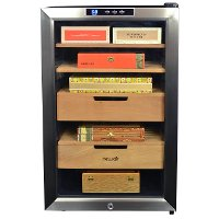 CC-300H NewAir 400 Count Cigar Heater and Cooler Humidor