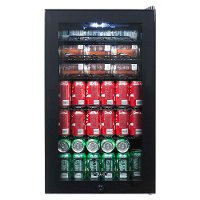 AB-1200B NewAir 126 Can Beverage Cooler - Black