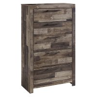 Modern Farmhouse Rustic Chest of Drawers - Broadmore