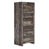 Modern Rustic Narrow Chest of Drawers - Broadmore