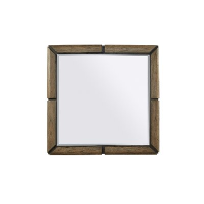 Rustic Brown Mirror - Westlake