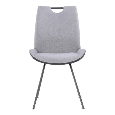 Modern Industrial Gray Dining Room Chair - Coronado