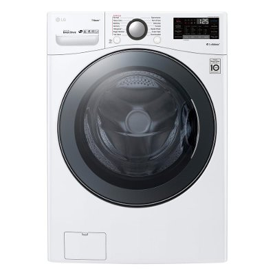 WM3900HWA LG Front Load Washer with TurboWash 360 Technology - 4.5 cu.ft. White
