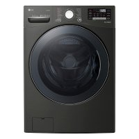 WM3900HBA LG Front Load Washer with TurboWash 360 - 4.5 cu. ft. Black Steel