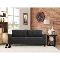 Classic Contemporary Heather Gray Sofa - Henley