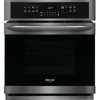 FGEW2766UD Frigidaire Gallery 27 Inch Single Wall Oven - 3.8 cu. ft. Black Stainless Steel