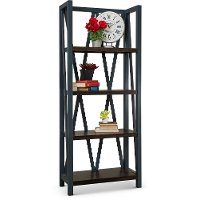 Denim Blue Bookcase - Americana