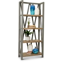 Dove Gray Bookcase