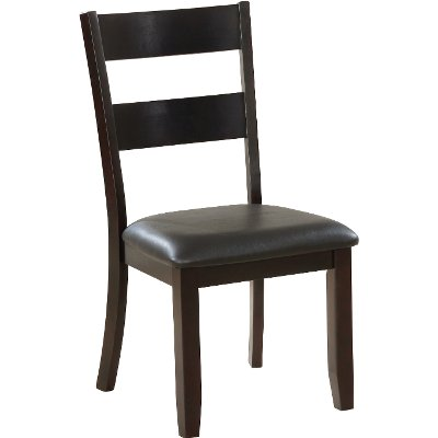 Brown Ladderback Dining Room Chair - Jackson