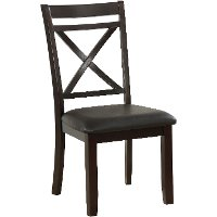 Chocolate Brown Dining Room Chair - Lexi