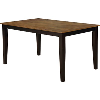 Chocolate Brown Dining Room Table - Lexi