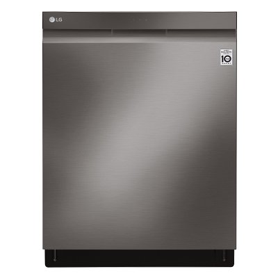 LDP6809BD LG Top Control Smart Dishwasher - 24 Inch Black Stainless Steel