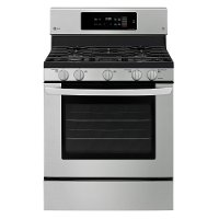 LRG3194ST LG 30 Inch Gas Range with Convection Oven - 5.4 cu. ft. Stainless Steel