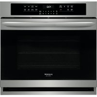 FGEW3066UF Frigidaire Gallery 30 Inch Single Wall Oven - 5.1 cu. ft. Stainless Steel