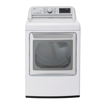 DLEX7800WE LG WiFi Electric Dryer with TurboSteam - White 7.3 cu.ft.