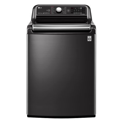 WT7900HBA LG Top Load Washer 5.5 cu. ft. TurboWash3D - Black Steel
