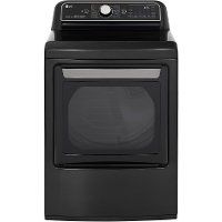 DLEX7900BE LG Smart Electric Dryer with TurboSteam - 7.3 cu. ft.