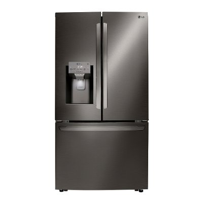 LRFXC2406D LG Counter Depth French Door Smart Refrigerator - 23.5 cu. ft., 36 Inch Black Stainless Steel