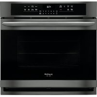 FGEW3066UD Frigidaire Gallery 30 Inch Single Wall Oven - 5.1 cu. ft. Black Stainless Steel