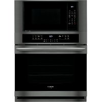 FGMC3066UD Frigidaire Gallery 30 Inch Combination Wall Oven with Microwave - Black Stainless Steel