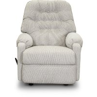 Silver Gray Manual Rocker Recliner - Sondra