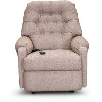 Mauve Power Rocker Recliner - Sondra