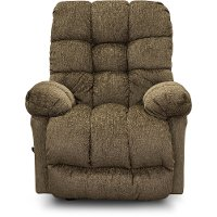 Carob Brown Contemporary Rocker Recliner - Brosmer