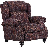 Tijuana Canyon Terracotta High Leg Power Recliner - Bisbee