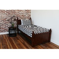 Beddy's Twin Black and White Checkerboard Bedding Collection