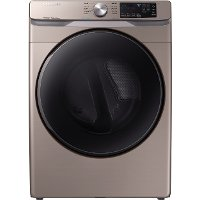 DVE45R6100C Samsung Steam Sanitize+ Dryer - 7.5 cu. ft. Champagne