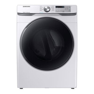 DVE45R6100W Samsung Electric Dryer Steam Sanitize+ - 7.5 cu. ft. White