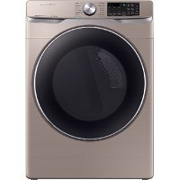 DVE45R6300C Samsung Bixby Enabled Electric Dryer - 7.5 cu. ft. Champagne