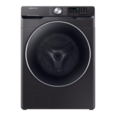 WF45R6300AV Samsung Super Speed Front Load Washer - 4.5 cu. ft. Black Stainless