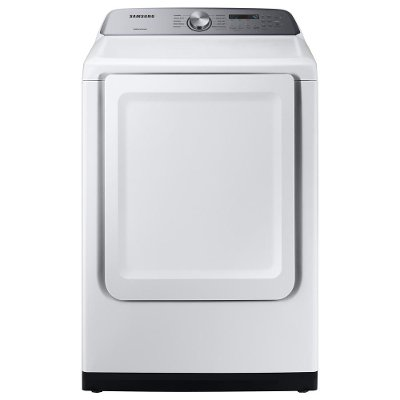 DVE50R5200W Samsung Sensor Dry Electric Dryer - 7.4 cu. ft. White