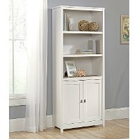 Soft White 2 Door Bookcase - Cottage Road