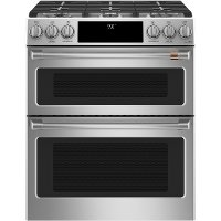 C2S950P2MS1 Cafe 30 Inch Dual Fuel Slide In Range - Stainless Steel