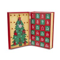 Wooden Book Advent Calendar