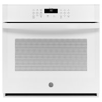 JTS3000DNWW GE 30 Inch Smart Single Wall Oven - 5.0 cu. ft. White