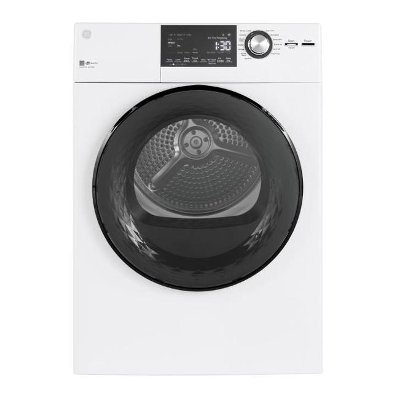 GFD14ESSNWW GE 24 inch Electric Dryer - White