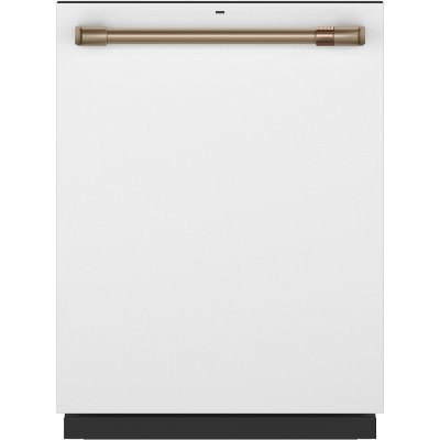 CDT845P4NW2 Cafe Dishwasher with Hidden Controls - Matte White