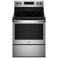 WFE510S0HS Whirlpool 5.3 cu. ft. Electric Range - 30 Inch Stainless Steel