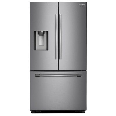 RF28R6201SR Samsung 28 cu. ft. French Door Smart Refrigerator - 36 Inch Stainless Steel