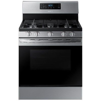 NX58R4311SS Samsung 30 Inch Gas Range - 5.8 cu. ft. Stainless Steel